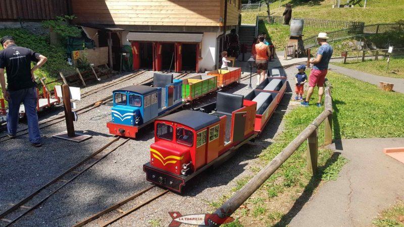 little train of Gryon