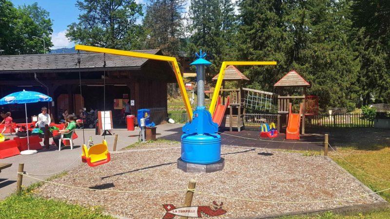 La Rotondo, une structure pour enfants jusqu'à 4 ans tournant sur elle-même