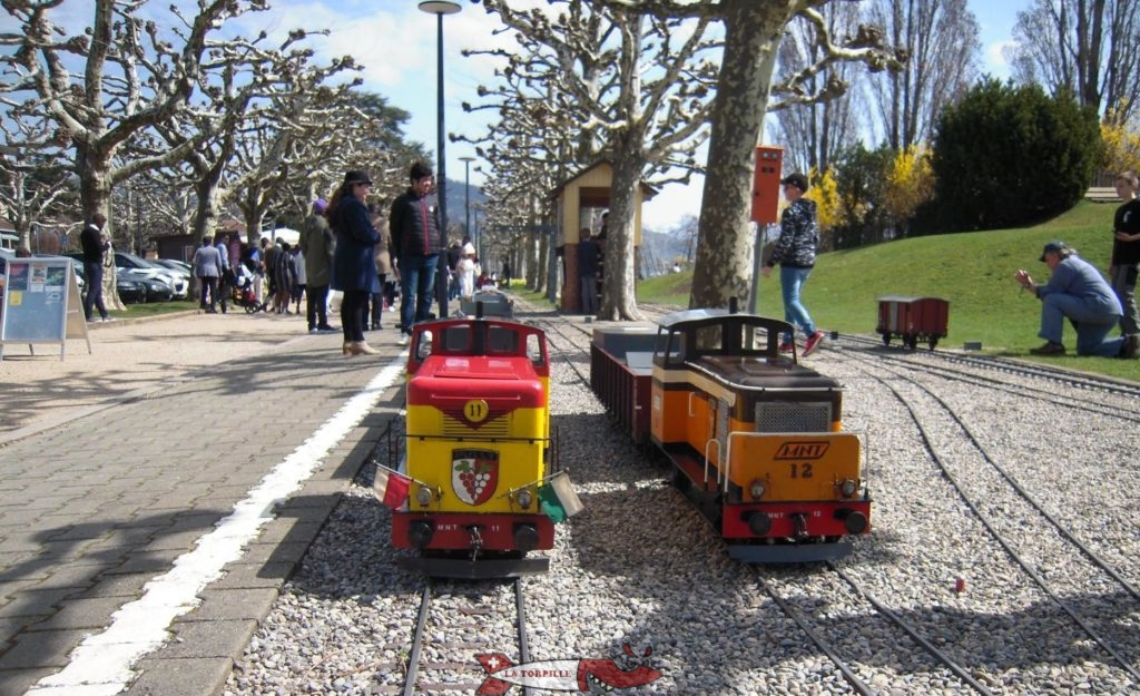 petit train de Pully