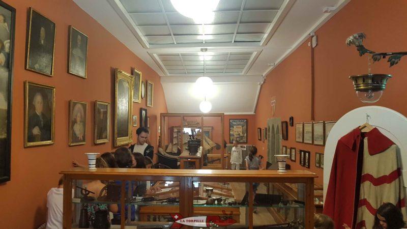 La deuxième salle du musée.