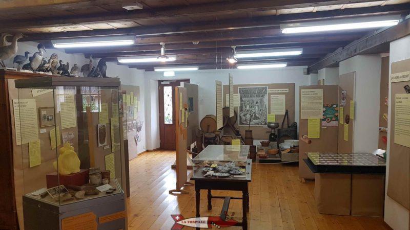 La salle dédiée aux expositions temporaires.