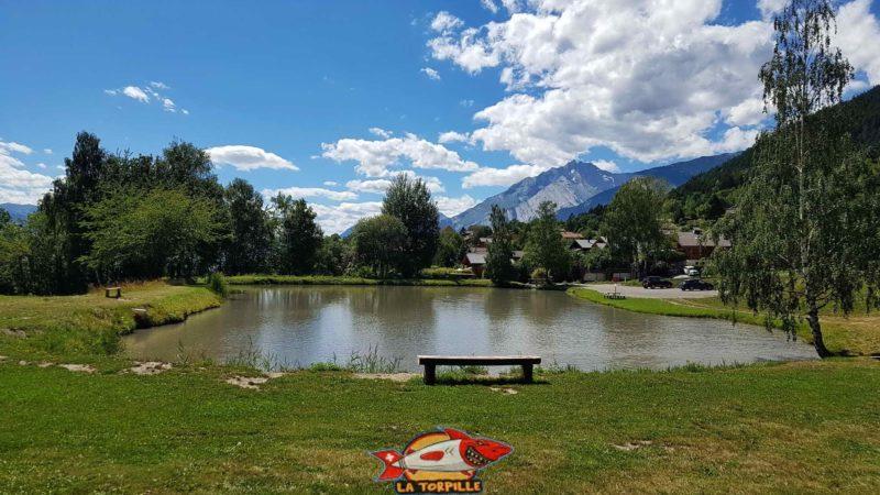 L'étang des Rochés.