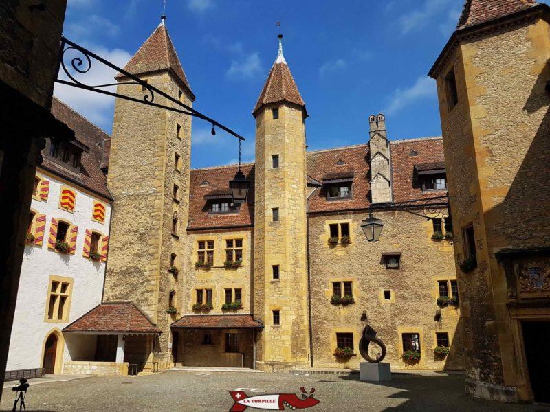 Cour d'honneur chateau de neuchâtel