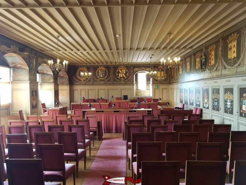 Salle des Etats chateau de neuchâtel