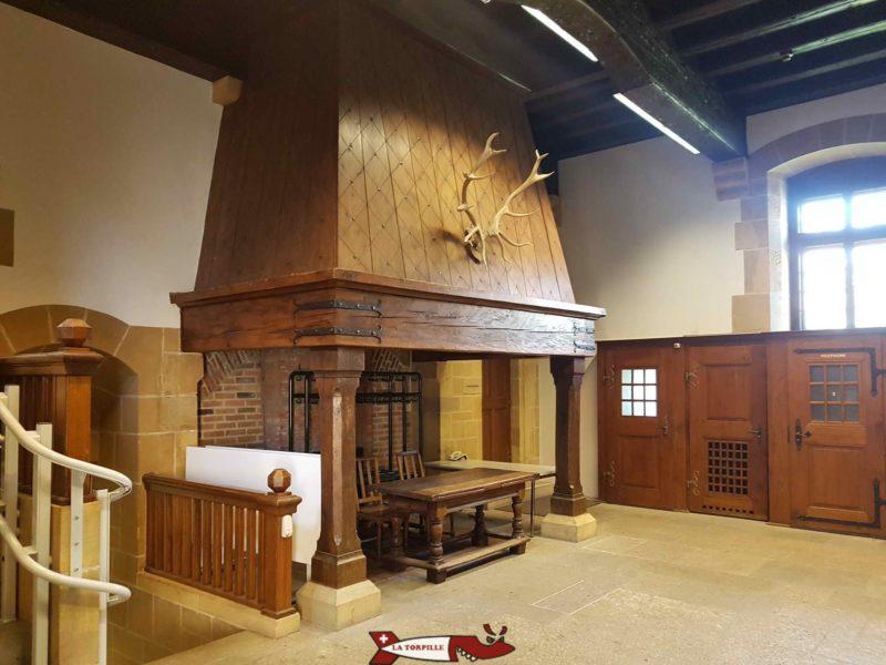 Ancienne cuisine chateau de neuchâtel