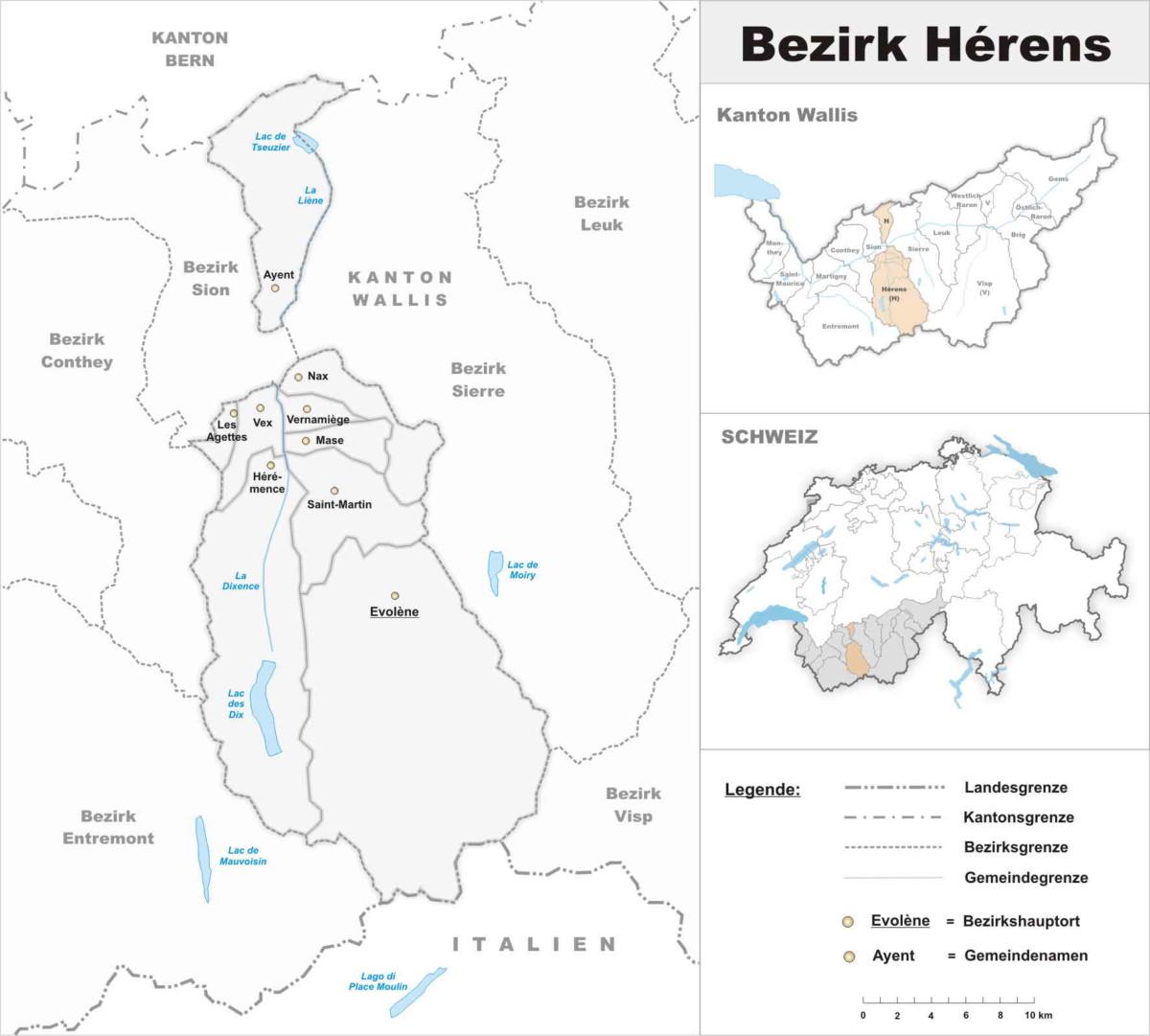 district d'hérens