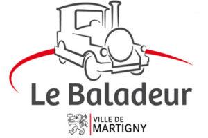 train touristique le baladeur martigny logo
