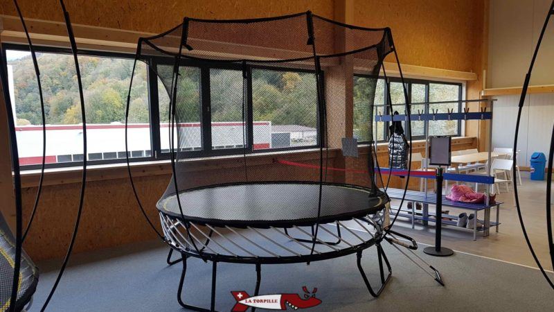Some trampolines are available for children up to 12 years old.