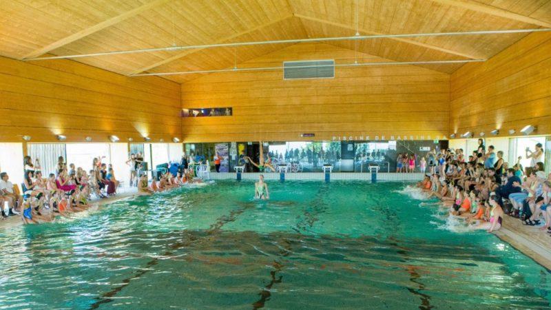 piscine couverte de bassins
