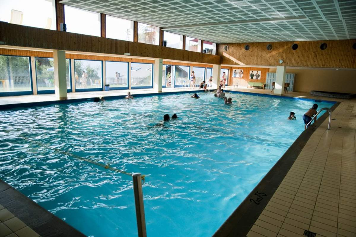 La piscine intérieure de la station de Veysonnaz.