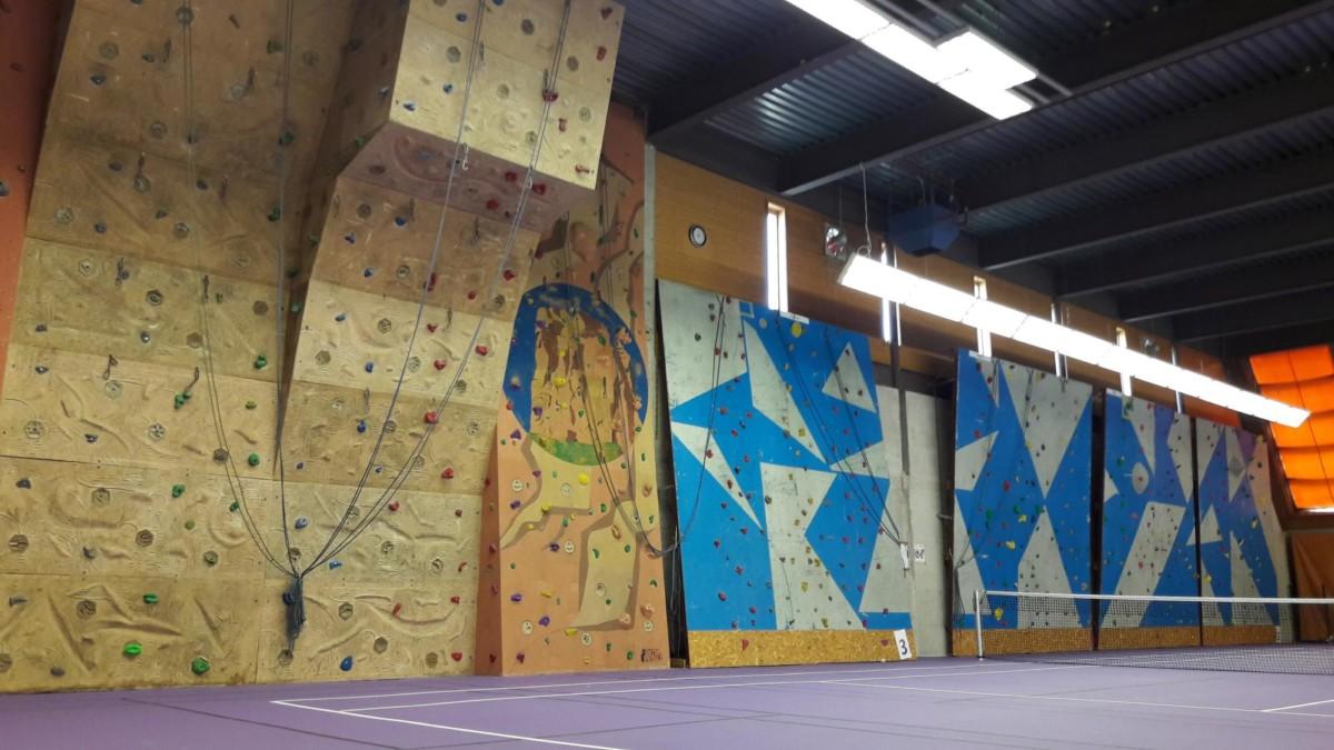 Centre Sportif de la Piscine - Leysin VD - Mur