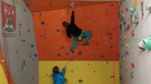 Salle d'escalade de Salvan VS - Mur