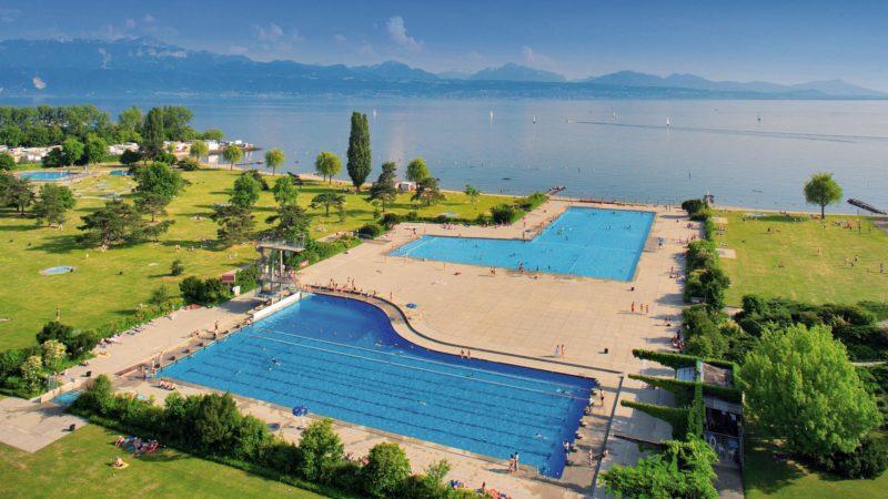 Lausanne: Piscine de Bellerive