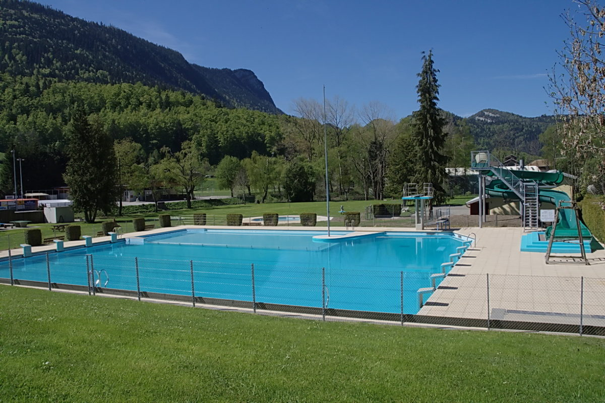 Vallorbe: Piscine en plein air