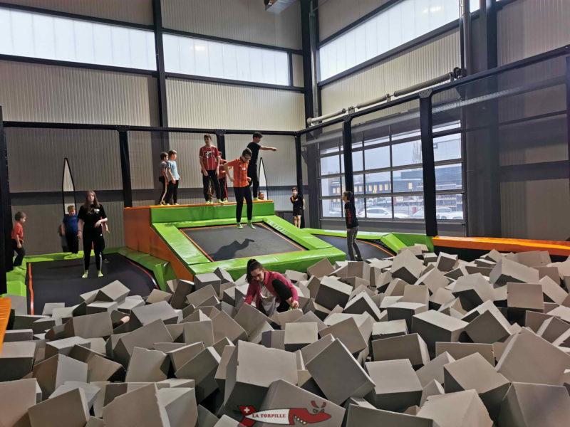jumping pit jumpland aigle