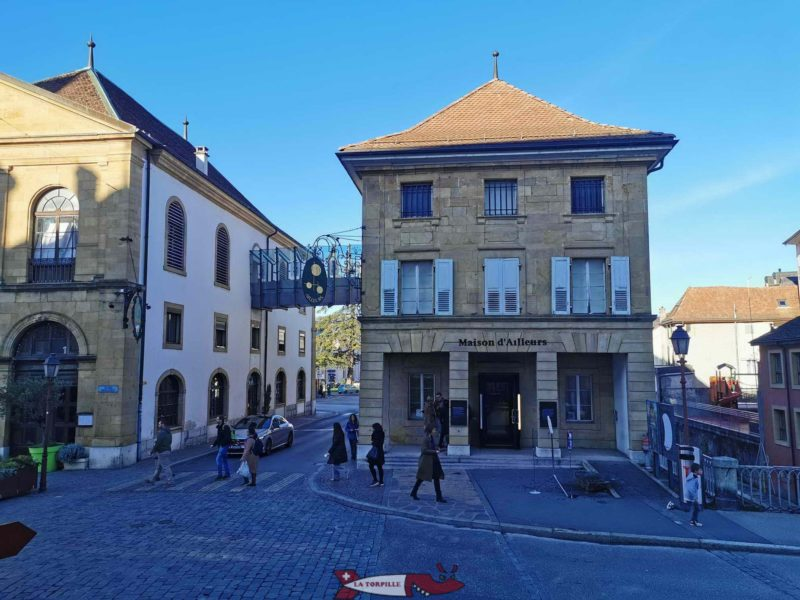 The House of Elsewhere. yverdon. Museum of Yverdon and its Region