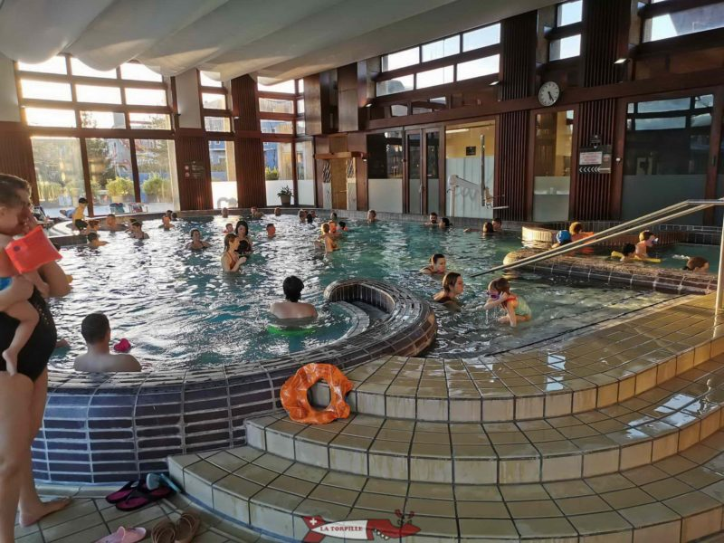 Inside pool. yverdon thermal baths