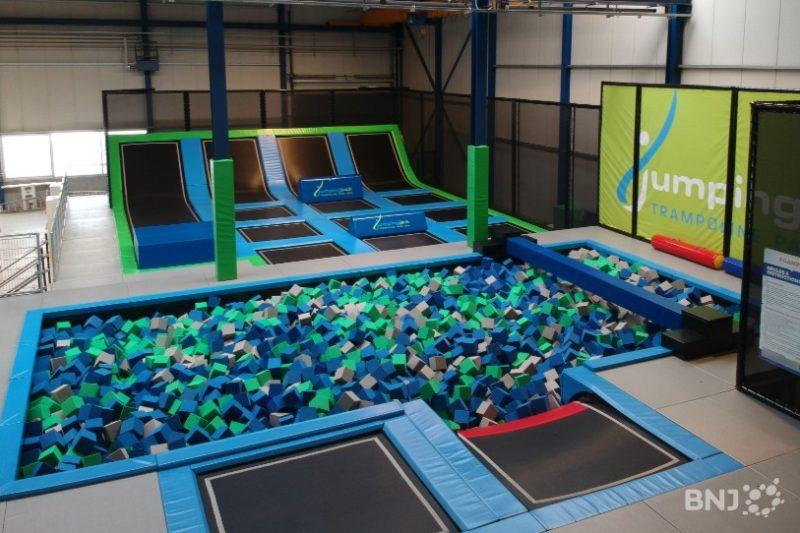 The trampolines of Jumping Jack
