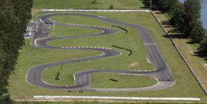 Le parcours du karting de Locarno.