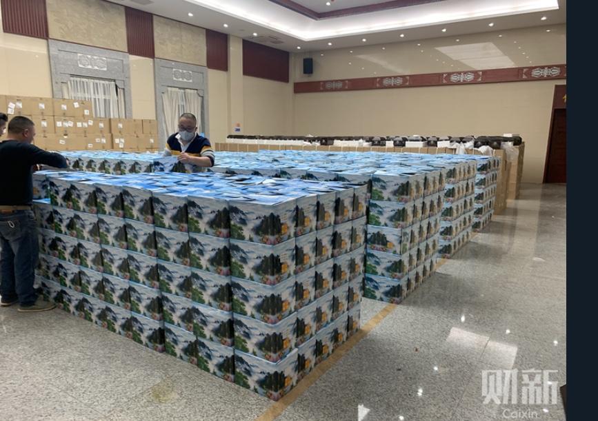 Les fameuses urnes funéraires de Wuhan.