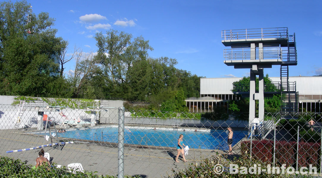 Vernets: Piscine plain air