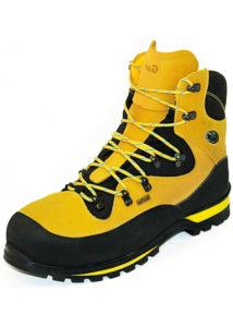 Des chaussures avec une semelle semi-rigides sont idéales.