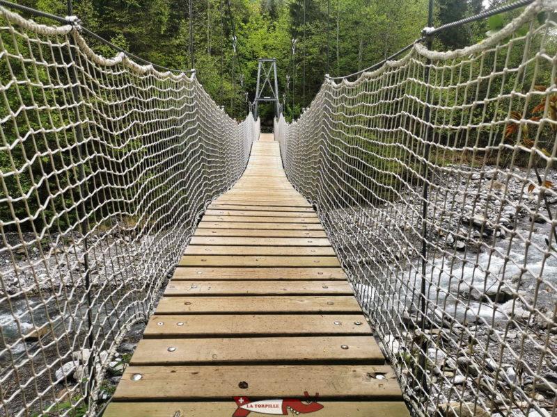 Le pont du Léderrey.