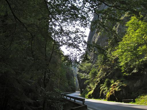 Les gorges du Seyon.