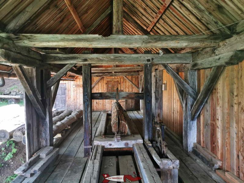 La scierie restaurée de Nax.