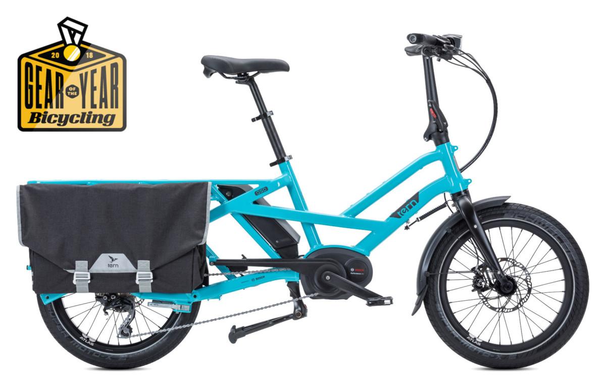 Le vélo cargo électrique permet avec un grand porte bagage de pouvoir déplacer du matériel.