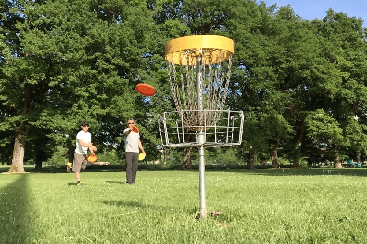 Le disc golf des Evaux.