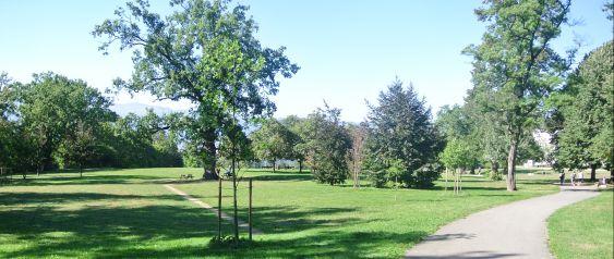 Le parc Sarasin.