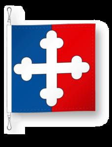 District de Monthey drapeau