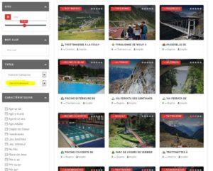 Voir le listing des activités dans la région d'Entremont.
