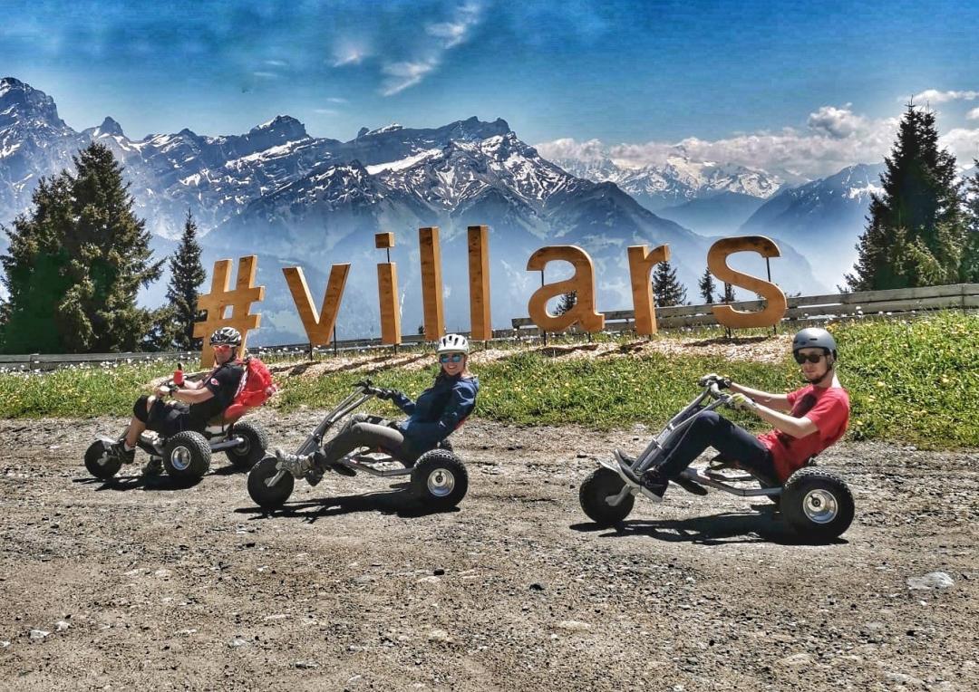mountain cart villars