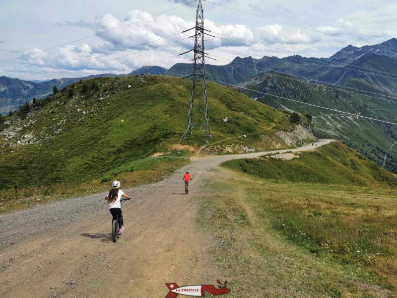 Tout les parcours se déroule sur des routes en gravier.