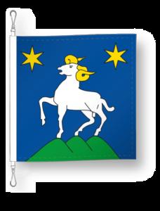 District d'Hérens drapeau