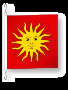 District de Sierre drapeau