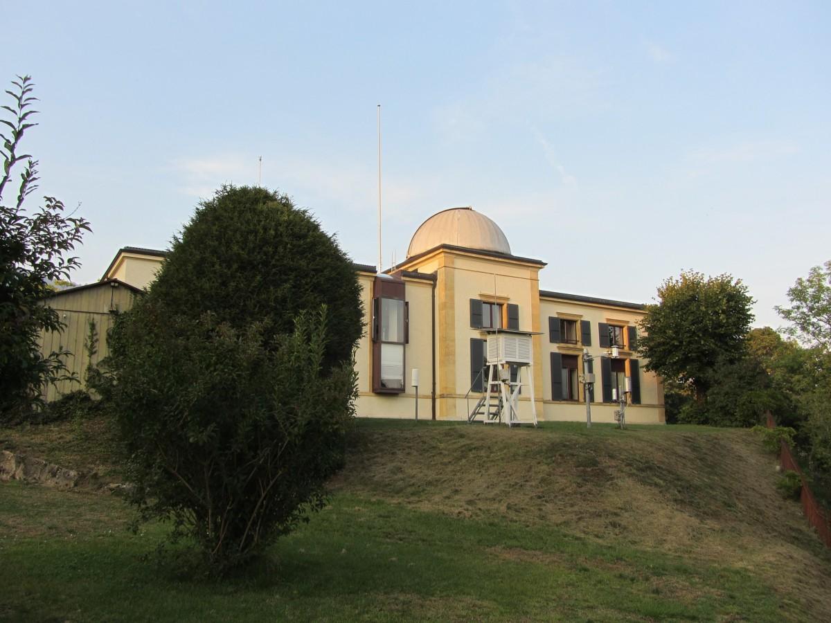 L'observatoire astronomique de Neuchâtel.