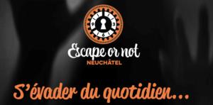 Escape or not Neuchâtel logo