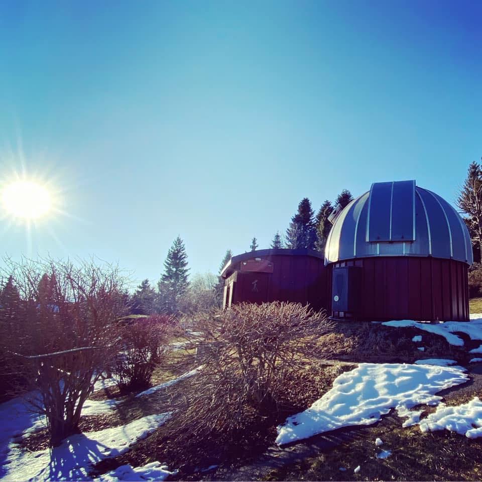 L'observatoire de Leysin.