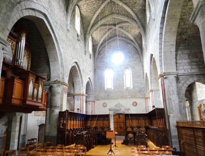 L'église de l'abbaye.