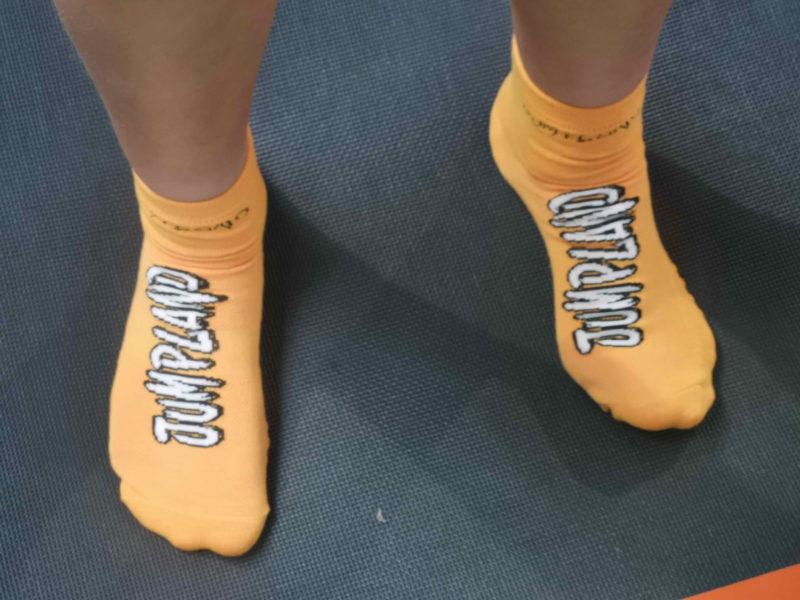 Des chaussettes anti-dérapantes sont obligatoires. Elles peuvent être achetées sur place au prix de 3 francs la paire.,