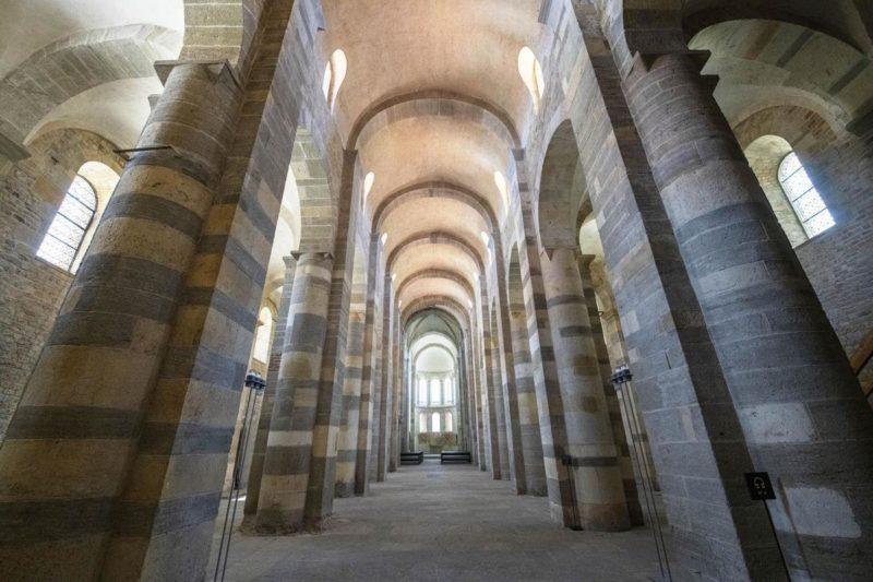 L'intérieur de l'abbatiale de Payerne