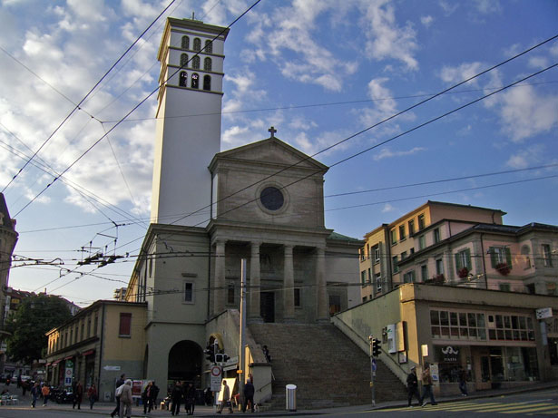 La basilique Notre-Dame du Valentin est l'édifice catholique principal de la ville Lausanne.