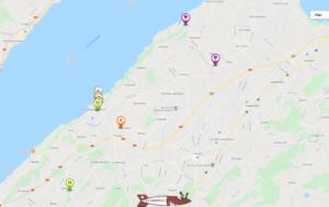 Carte interactive des activités dans la région de la Broye