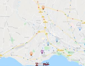 Carte interactive des activités dans la region de l'Ouest-lausannois