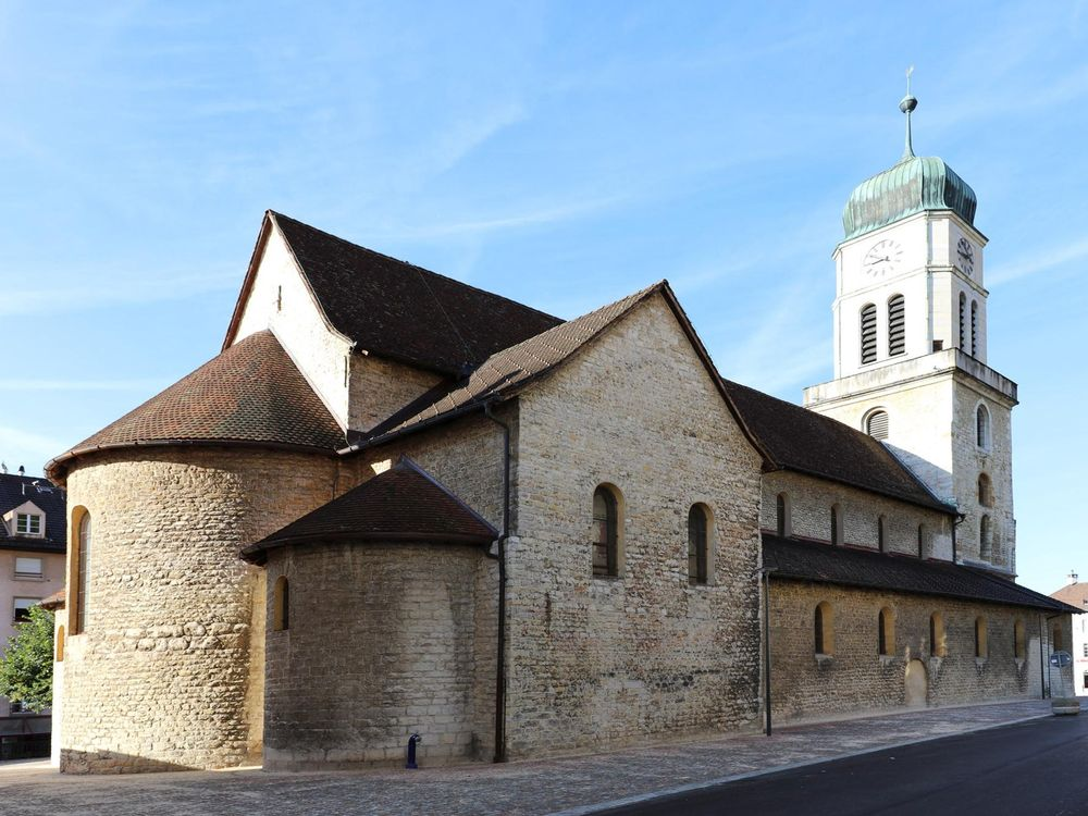 La collégiale de Saint-Imier