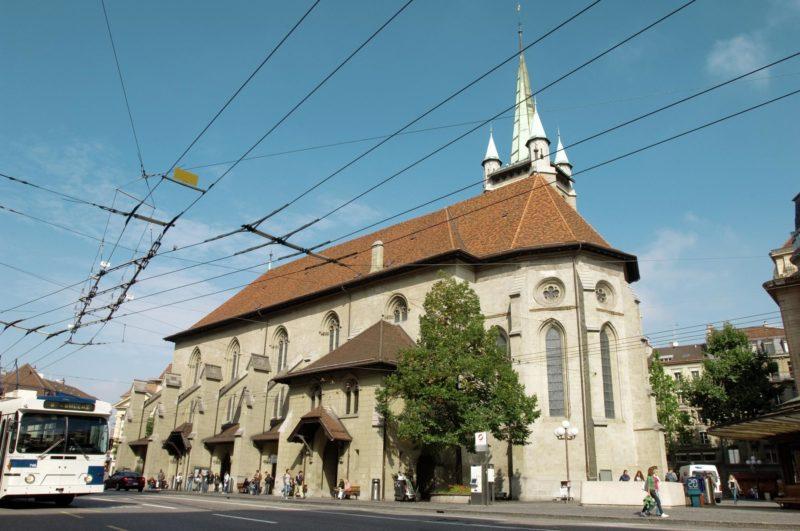 L'église Saint-François.