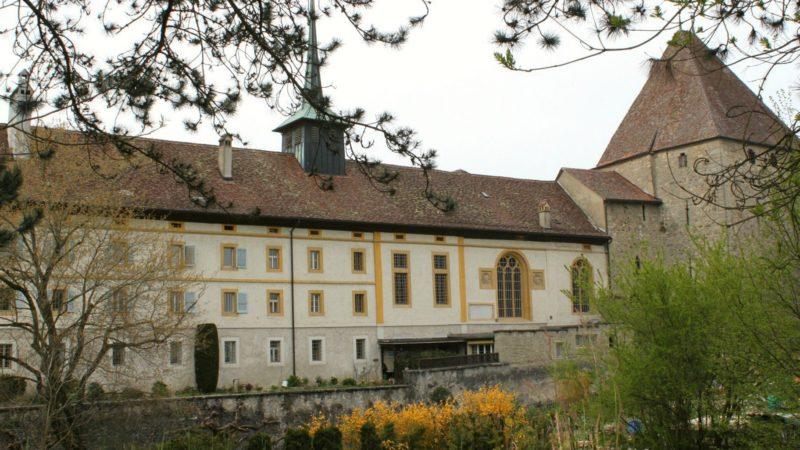 Le monastère d'Estavayer.